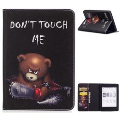 Seven-color Flowers Folio Stand Leather Wallet Case for