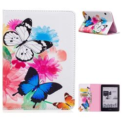Vivid Flying Butterflies Folio Stand Leather Wallet Case