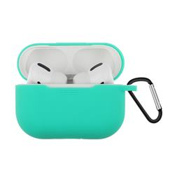 Dust-proof Candy Soft Silicone Light Green for Apple AirPods Pro / Airpods 3 - Light Green