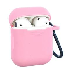 Non-slip Soft Silicone Case for Apple AirPods - Pink