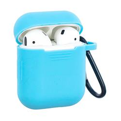 Non-slip Soft Silicone Case for Apple AirPods - Blue
