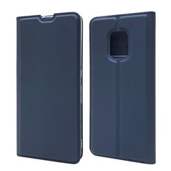 Ultra Slim Card Magnetic Automatic Suction Leather Wallet Case for FUJITSU Docomo Arrows 5G F-51A - Royal Blue