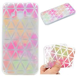 Rainbow Triangle Super Clear Soft TPU Back Cover for Samsung Galaxy Core Prime G360