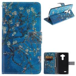 Apricot Tree PU Leather Wallet Case for LG G4 H810 VS999 F500