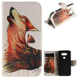 Color Wolf PU Leather Wallet Case for LG G5