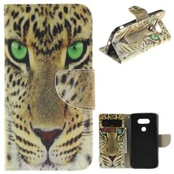 Yellow Tiger PU Leather Wallet Case for LG G5
