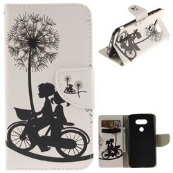 Cycling Dandelion PU Leather Wallet Case for LG G5