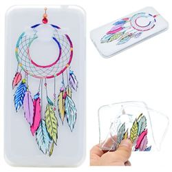 Rainbow Campanula Super Clear Soft TPU Back Cover for Samsung Galaxy Grand Prime G530