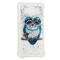 Sweet Gray Owl Dynamic Liquid Glitter Sand Quicksand Star TPU Case for Samsung Galaxy Grand Prime G530
