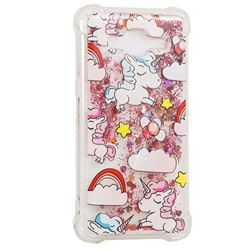 Angel Pony Dynamic Liquid Glitter Sand Quicksand Star TPU Case for Samsung Galaxy Grand Prime G530