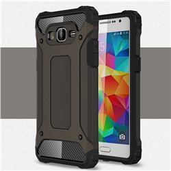 King Kong Armor Premium Shockproof Dual Layer Rugged Hard Cover for Samsung Galaxy Grand Prime G530 - Bronze