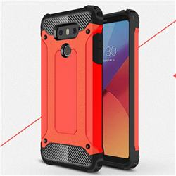 King Kong Armor Premium Shockproof Dual Layer Rugged Hard Cover for LG G6 - Big Red
