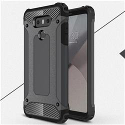 King Kong Armor Premium Shockproof Dual Layer Rugged Hard Cover for LG G6 - Bronze