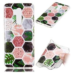 Rainforest Soft TPU Marble Pattern Phone Case for LG G7 ThinQ
