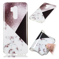 Black white Grey Soft TPU Marble Pattern Phone Case for LG G7 ThinQ