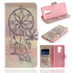 Dream Catcher PU Leather Wallet Case for LG G7 ThinQ
