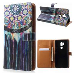 Dream Catcher Leather Wallet Case for LG G7 ThinQ