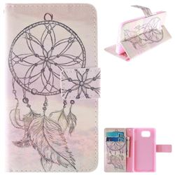 Dream Catcher PU Leather Wallet Case for Samsung Galaxy Alpha G850