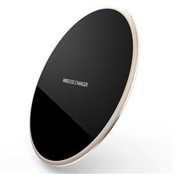 R-JUST Ultra-Thin Fast Charge Qi Wireless Charging Pad Golden