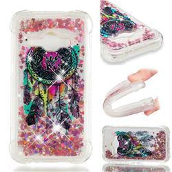 Seal Wind Chimes Dynamic Liquid Glitter Sand Quicksand Star TPU Case for Samsung Galaxy J1 2016 J120