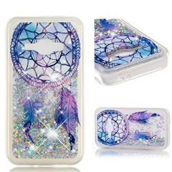 Fantasy Wind Chimes Dynamic Liquid Glitter Quicksand Soft TPU Case for Samsung Galaxy J1 2016 J120