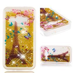 Golden Tower Dynamic Liquid Glitter Quicksand Soft TPU Case for Samsung Galaxy J1 2016 J120