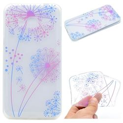 Rainbow Dandelion Super Clear Soft TPU Back Cover for Samsung Galaxy J2 Prime G532