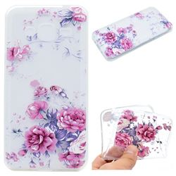 Peony Super Clear Soft TPU Back Cover for Samsung Galaxy J2 Prime G532