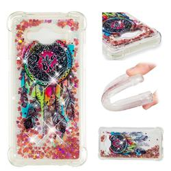 Seal Wind Chimes Dynamic Liquid Glitter Sand Quicksand Star TPU Case for Samsung Galaxy J2 Prime G532