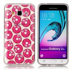 Eye Donuts Super Clear Soft TPU Back Cover for Samsung Galaxy J3 2016 J320