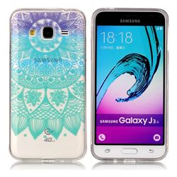Mandala Wind Chimes Super Clear Soft TPU Back Cover for Samsung Galaxy J3 2016 J320