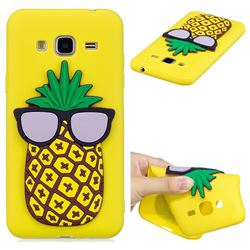 Pineapple Soft 3D Silicone Case for Samsung Galaxy J3 2016 J320
