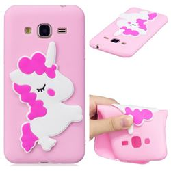 Pony Soft 3D Silicone Case for Samsung Galaxy J3 2016 J320