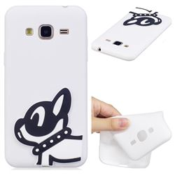 Cute Dog Soft 3D Silicone Case for Samsung Galaxy J3 2016 J320