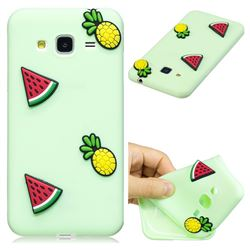Watermelon Pineapple Soft 3D Silicone Case for Samsung Galaxy J3 2016 J320