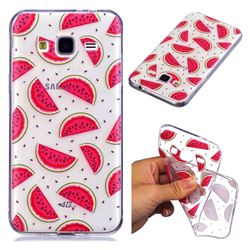 Red Watermelon Super Clear Soft TPU Back Cover for Samsung Galaxy J3 2016 J320