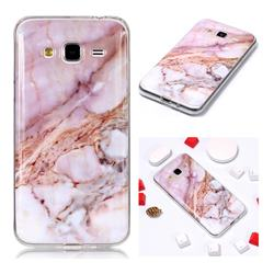 Classic Powder Soft TPU Marble Pattern Phone Case for Samsung Galaxy J3 2016 J320