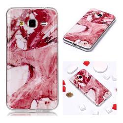 Pork Belly Soft TPU Marble Pattern Phone Case for Samsung Galaxy J3 2016 J320