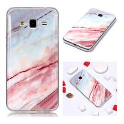 Elegant Soft TPU Marble Pattern Phone Case for Samsung Galaxy J3 2016 J320