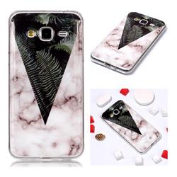 Leaf Soft TPU Marble Pattern Phone Case for Samsung Galaxy J3 2016 J320