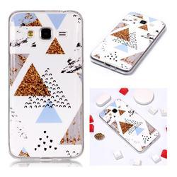 Hill Soft TPU Marble Pattern Phone Case for Samsung Galaxy J3 2016 J320