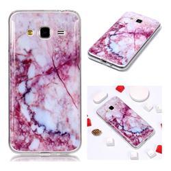 Bloodstone Soft TPU Marble Pattern Phone Case for Samsung Galaxy J3 2016 J320