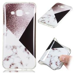Black white Grey Soft TPU Marble Pattern Phone Case for Samsung Galaxy J3 2016 J320