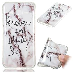 Forever Soft TPU Marble Pattern Phone Case for Samsung Galaxy J3 2016 J320