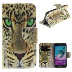Yellow Tiger PU Leather Wallet Case for Samsung Galaxy J3 2016 J320