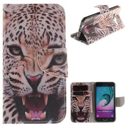 Puma PU Leather Wallet Case for Samsung Galaxy J3 2016 J320