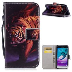 Mighty Tiger PU Leather Wallet Case for Samsung Galaxy J3 2016 J320