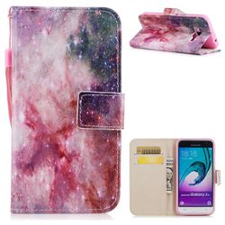 Cosmic Stars PU Leather Wallet Case for Samsung Galaxy J3 2016 J320