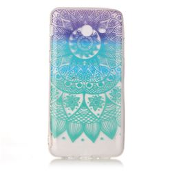 Mandala Wind Chimes Super Clear Soft TPU Back Cover for Samsung Galaxy J3 2017 Emerge