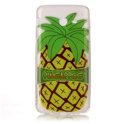 Big Pineapple Super Clear Soft TPU Back Cover for Samsung Galaxy J3 2017 Emerge